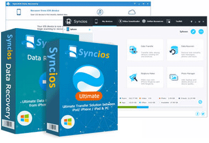 Syncios Ultimate 版とSyncios Data Recovery の特典バンドル
